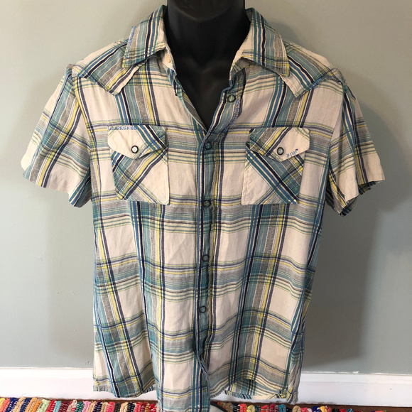 Diesel Other - Diesel Button Down Shirt Flannel Fall Casual
